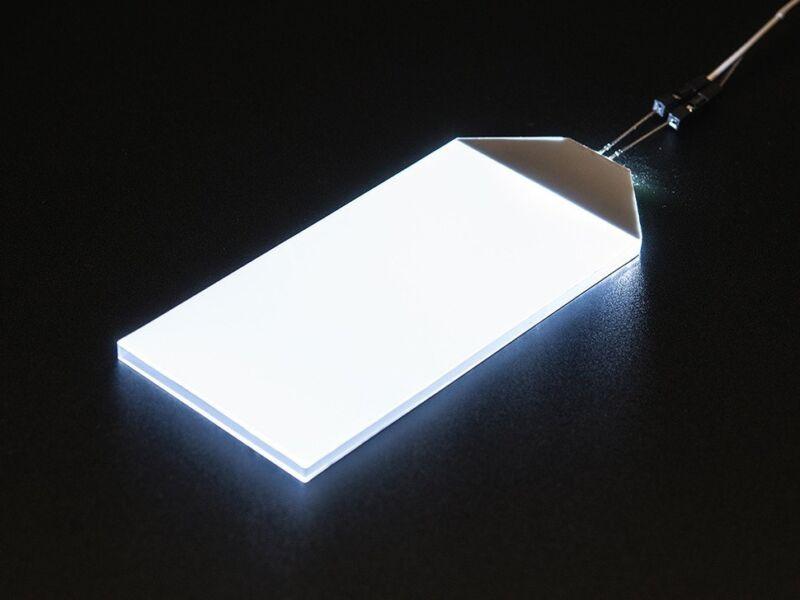White LED Backlight Module - Large 45mm x 86mm