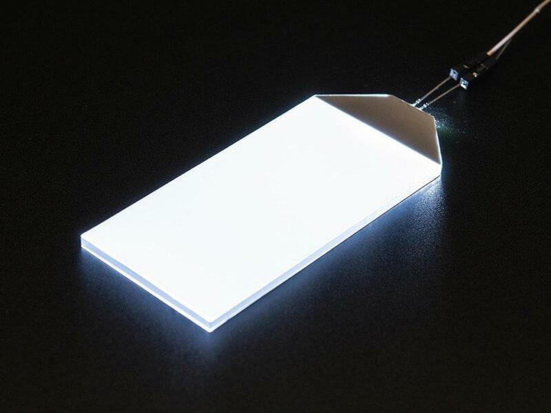 Adafruit White LED Backlight Module - Large 45mm x 86mm