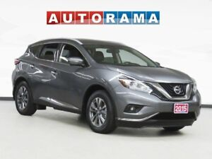 2015 Nissan Murano SL NAVIGATION PAN SUNROOF LEATHER BACK UP CAM