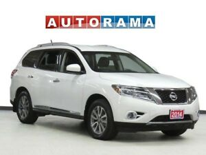 2015 Nissan Pathfinder SL NAVIGATION LEATHER SUNROOF 7 PASS AWD