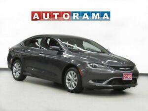 2015 Chrysler 200 NAVIGATION BACK UP CAMERA LEATHER ALLOY WHEELS