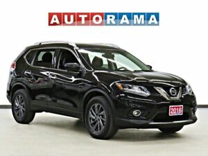 2016 Nissan Rogue SL NAVIGATION LEATHER SUNROOF BACK UP CAM AWD