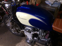 Custom and classic paint/airbrush for Motorcycles and more
