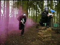 Paintballing tickets bargain prices