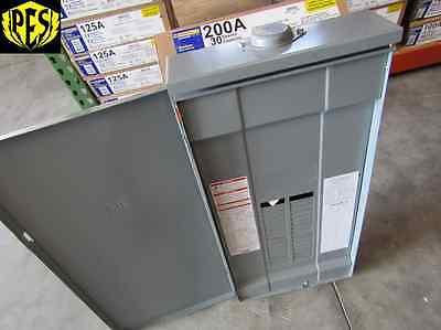 New Square D Qo330l200grb 3 Phase 30 Ckt 200 Amp Main Lug Outdoor Panel