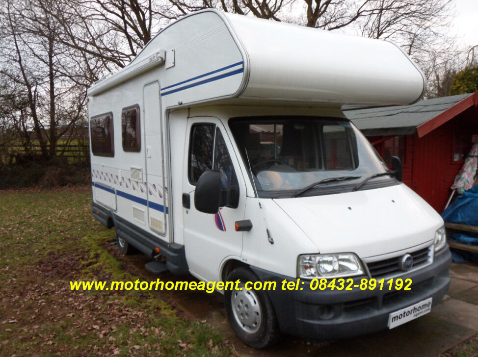 2002 fiat ducato autotrail ci carioca 15 5 berth motorhome. Black Bedroom Furniture Sets. Home Design Ideas