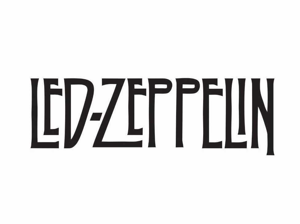 Led Zeppelin Music Band Die Cut Car Decal Sticker - FREE SHI