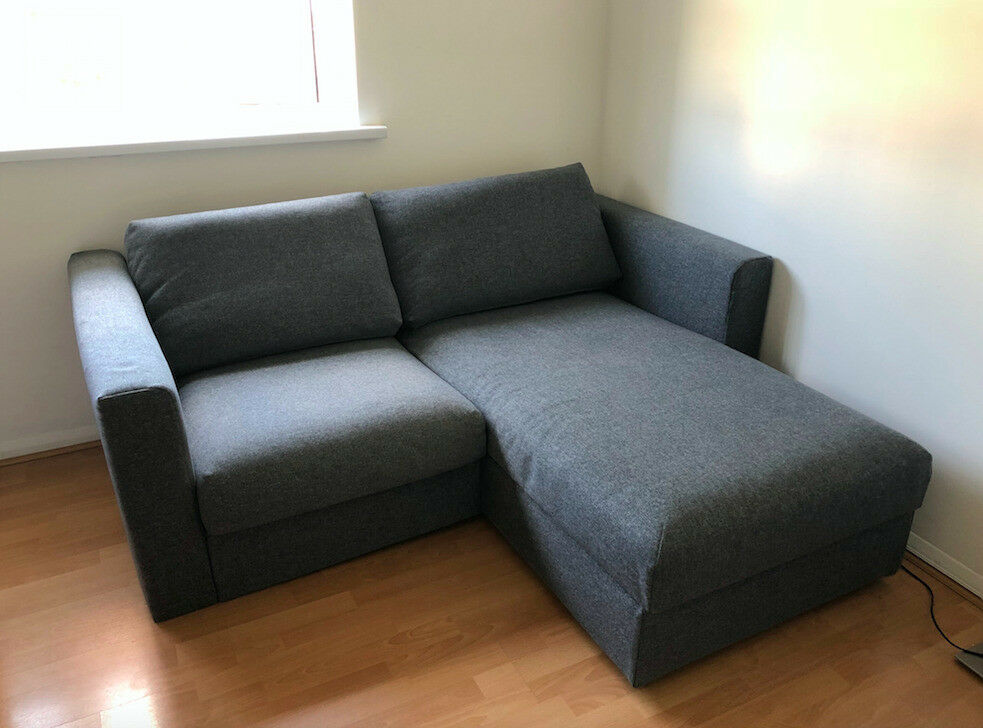 Ikea Vimle Two Seat Sofa Chaise Longue With Storage In