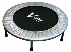 V-fit trampoline with a few extra outer-covers