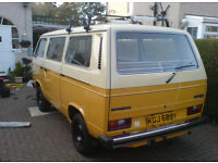 VW T25 T3 LOOKING FOR KGJ689Y TYPE 25