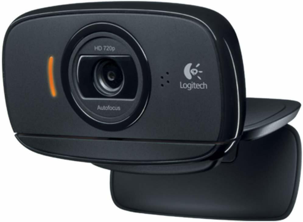 Logitech B525 Webcam, Full-HD 1080p, 69° Blickfeld, Autofokus, Klappbar NEU-OVP