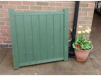 Garden gate with fittings 3' x 3'