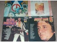 Collection of 20 Vinyl records/albums
