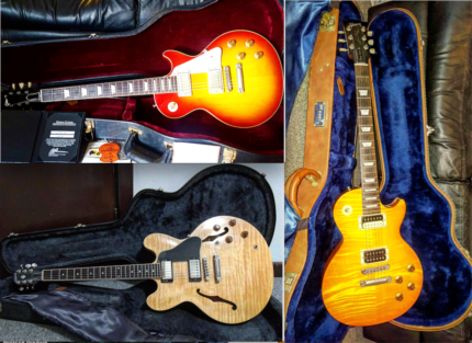3 gibson guitars sell for 1(one) bitcoin