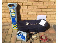 Radiodetection Cat 3 + with Genny (A1 Excellent Condition) plus bag with 12mths calibration