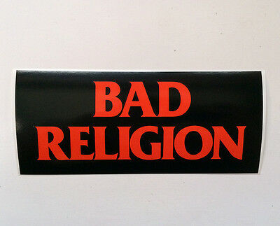 BAD RELIGION sticker - Official merch, Epitaph Records, strong durable vinyl