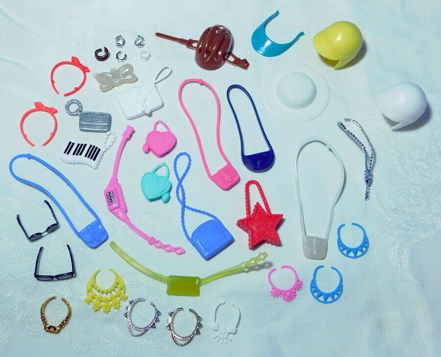 Barbie Accessories - Purses Fanny Packs Sunglasses Necklaces