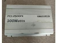 Bosch Mann PCH-2500FX 2/1 Channel MOSFET amplifier amp sub