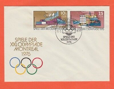 Orig.Ersttagsbrief   Olympische Spiele MONTREAL 1976 - Edition B  !!  SELTEN