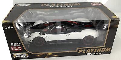 motormax 1:18 PAGANI ZONDA PLATINUM COLLECTION RARE MODEL