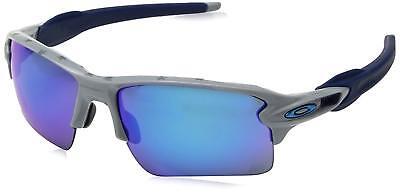 Oakley Flak 2.0 XL OO9188-89 Sunglasses Grey Prizm Sapphire Lens 9188 89 USA