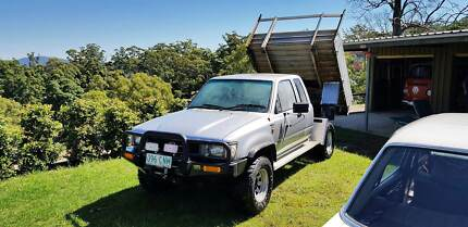 92 Toyota HiLux Tipper Water Tank and Winch