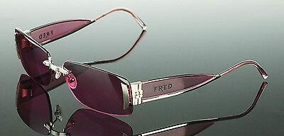SALE $1200 Palladium Plated FRED LUNETTES Designer Marine Sunglasses P F1 (Womens Designer Sunglasses Sale)