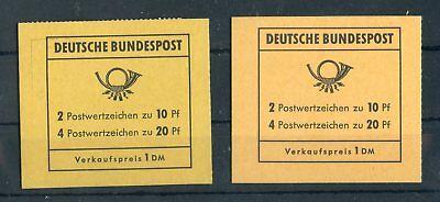 BUND-MH MH13c+13d ** BRANDENBURGER TOR 1968 ME 81,-++ !!! (134660)
