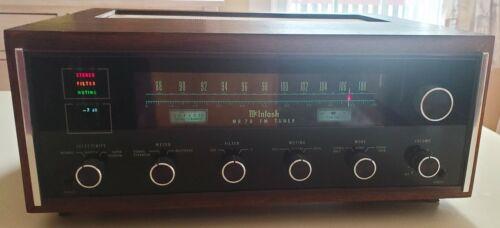 Vintage McIntosh MR-78 Tuner Amazing Condition! Serviced by Richard Modiferri!