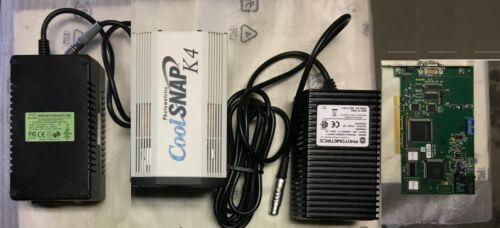 Roper Scientific Photometrics Complete system CoolSNAP K4 Camera PCI board PS