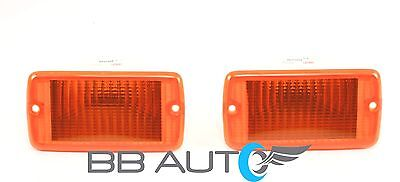 NEW FRONT CORNER TURN SIGNAL PARKING LIGHT LAMP LENS SET FOR 97-06 JEEP WRANGLER - Parking Light Lamp Lens