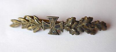 Kleine Patriotische Brosche mit kleinen eisernen Kreuz 1914