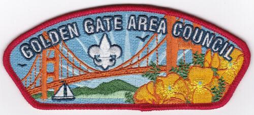 CSP - GOLDEN GATE AREA COUNCIL - S-XX (NEW COUNCIL) - BSA SINCE 1910 BACK