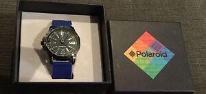 NWT-Polaroid-Watch-116803-SWN-1354-BLUE-286C