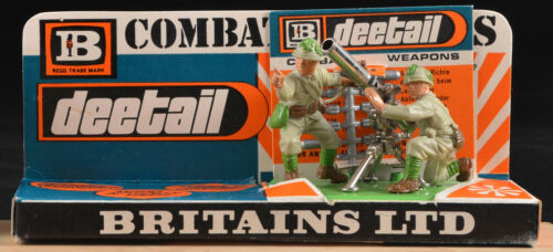 Britains Deetail WWII Japanese Recoilless Rifle - Mint on MASTER card