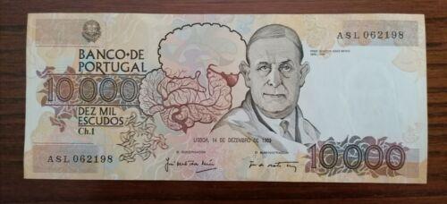 Portugal - banknote /10000 escudos /1989