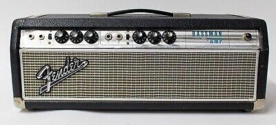 1969 Fender Bassman Amp Silverface Drip Edge Tube Head Amplifier - Vintage segunda mano  Embacar hacia Mexico