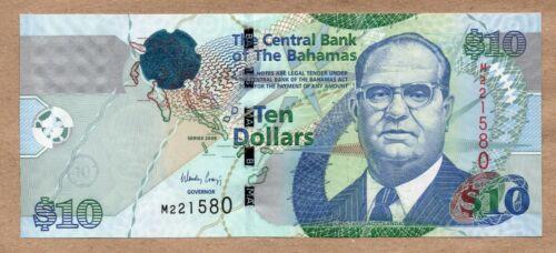 BAHAMAS - 10 DOLLARS - 2009 - P73A - UNCIRCULATED