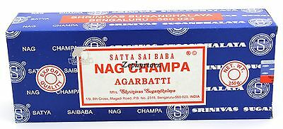 Nag Champa 250 Grams box - NEW ORIGINAL 2016 - Free Shipping