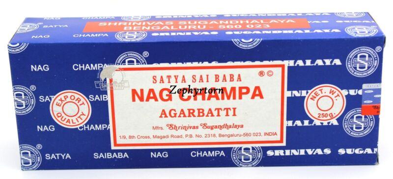Nag Champa 250 Grams box - NEW ORIGINAL 2020 - Free Shipping