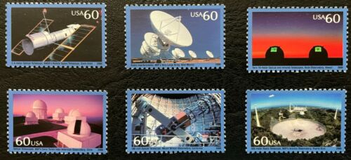 2000 Scott #3409, 60¢, PROBING THE VASTNESS OF SPACE  - MNH - Set of 6 Singles