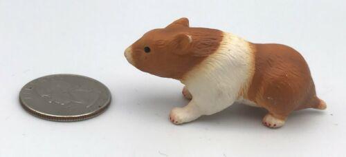 Schleich HAMSTER Brown Orange & White Animal figure 2004 Retired 14412