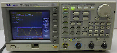 Tektronix Afg3102 Dual Channel Arbitrary Function Generator Tested And Working
