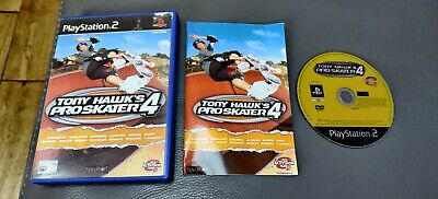 Tony Hawk's Pro Skater 4 - Ps2 ( Playstation 2 ) Complete W/box & Manual