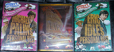 Monty Python DVD Lot - The Meaning of Life (New) Best of Flying Circus Lot of (Best Of The Best Meaning)