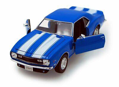 1968 Chevrolet Camaro Z/28 Diecast 1:24 Model Blue - Welly - 22448BL* Camaro 1968 Chevrolet Camaro