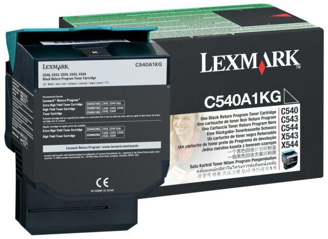 Lexmark C540A1KG orginal OEM Schwarz Laser Tonerkartusche