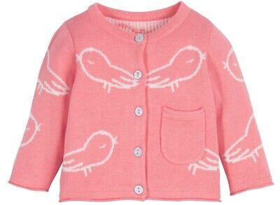 NEU Baby Strickjacke *Bio-Baumwolle* Gr. 62/68