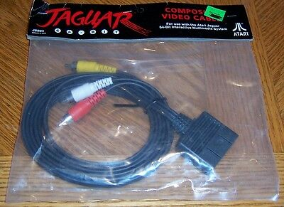 Atari Jaguar Composite Monitor Audio/Video Cable Original OEM NEW NOS