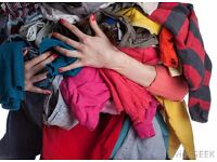 Cash for clothes .we come to you. Up to £1.00 per kilo paid